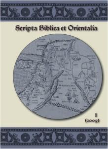 Okładka Scripta Biblica et Orientalia,